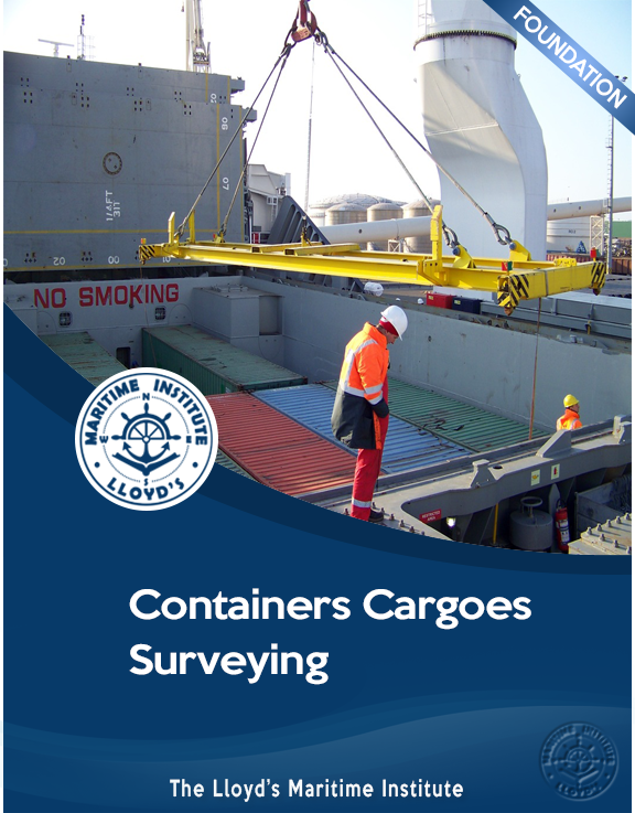 Cargo Surveying Foundation Diploma - Containers Cargoes Surveying