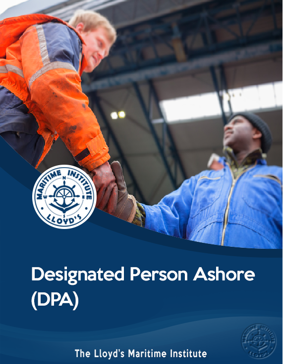 Designated Person Ashore (DPA)