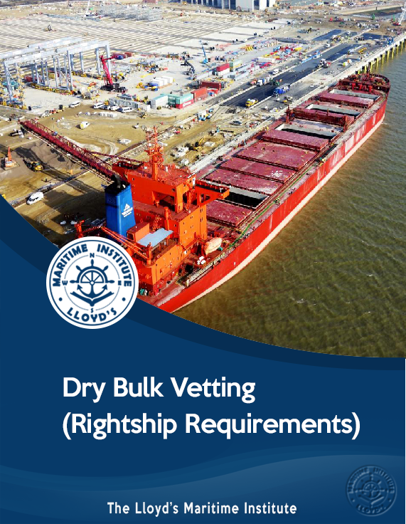 Dry Bulk Vetting (Rightship Requirements)