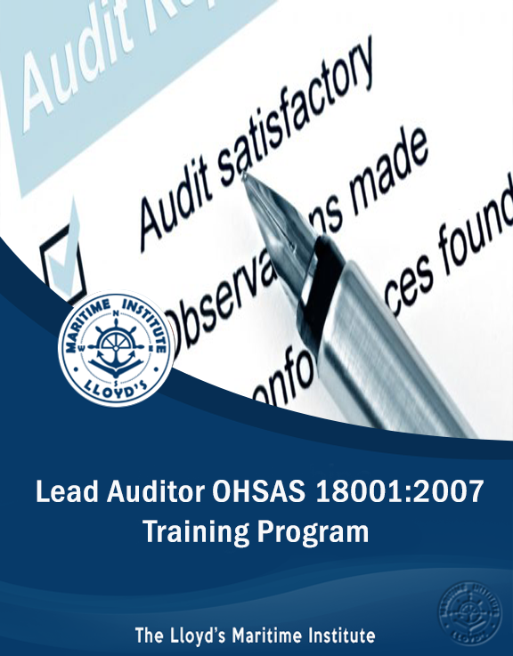 Lead Auditor OHSAS 18001:2007