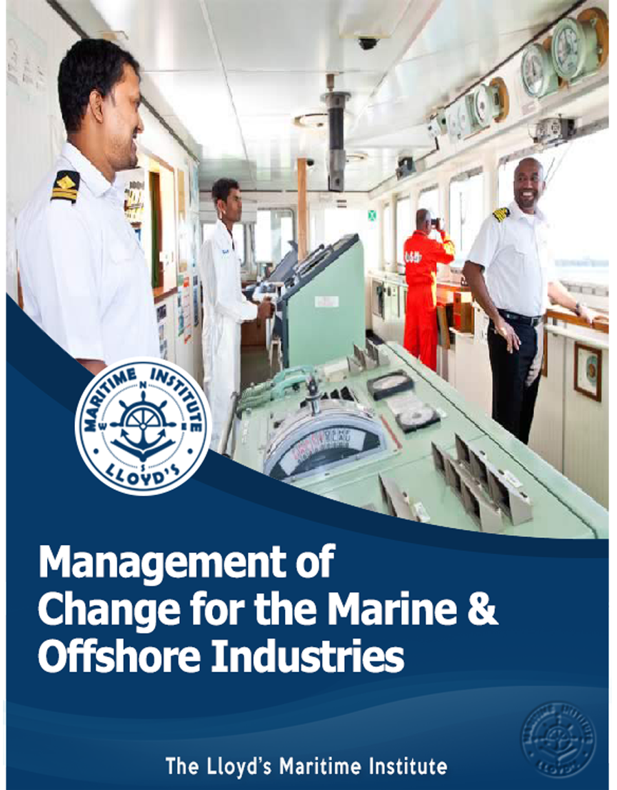 Management of Change for the Marine and Offshore Industries
