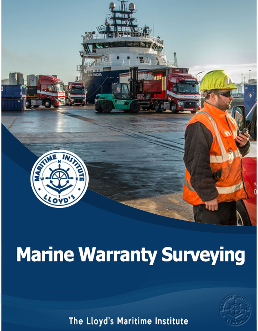 Marine Warranty Surveying