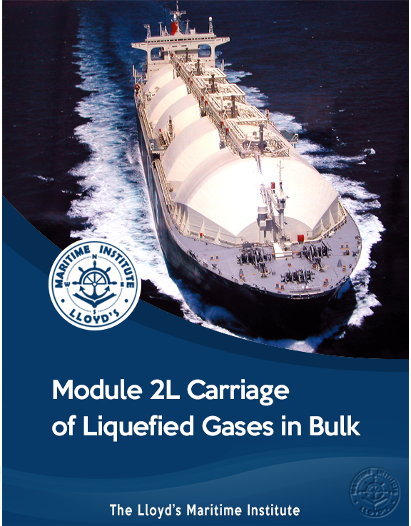 Module 2L - Carriage of Liquefied Gases in Bulk