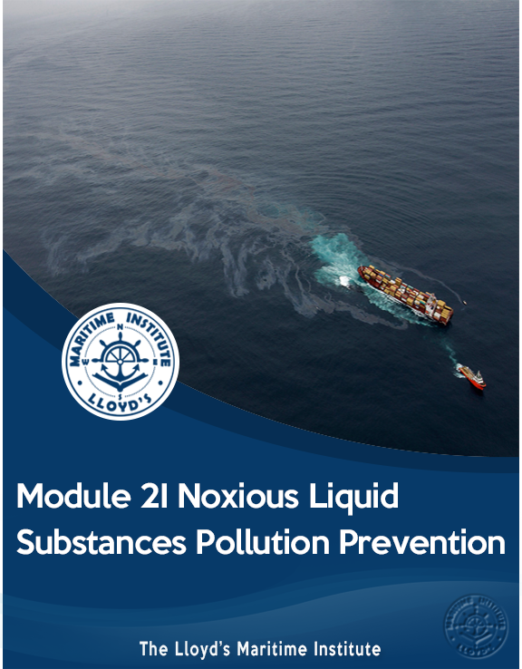 Module 2I - Noxious Liquid Substances Pollution Prevention