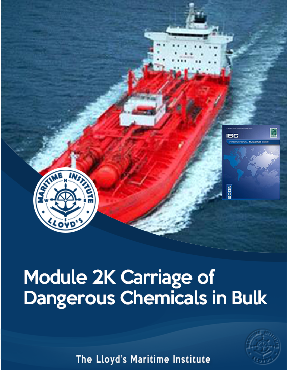 Module 2K - Carriage of Dangerous Chemicals in Bulk