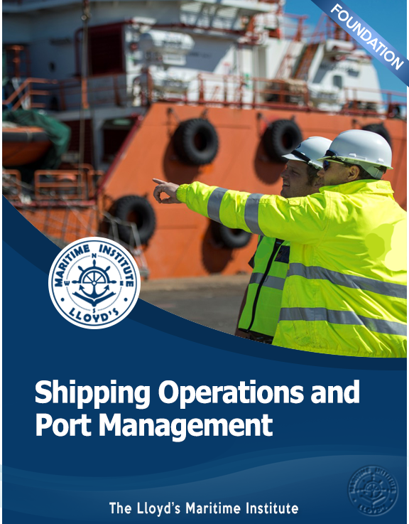 Shipping Management Foundation Diploma - Shipping Operations and Port Management