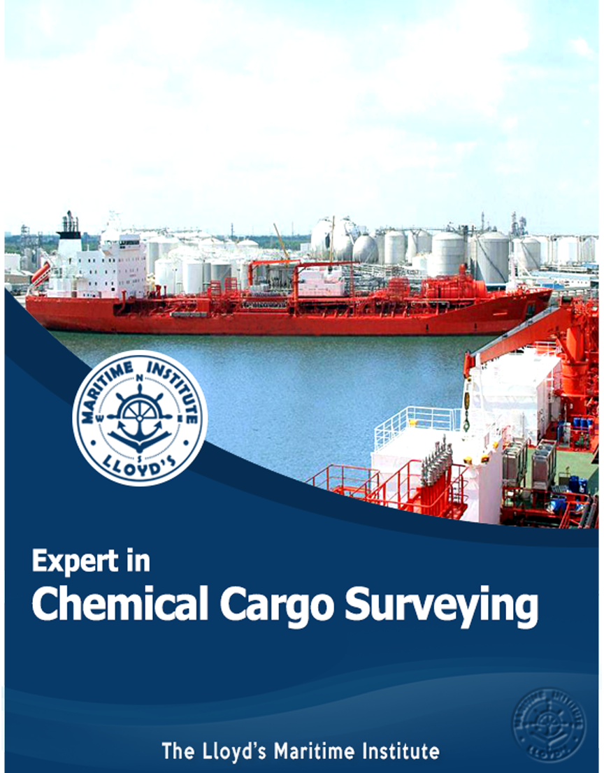 Cargo Surveying Advanced Diploma - Expert in Chemical Cargo Inspection