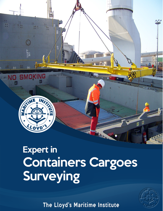 Cargo Surveying Advanced Diploma - Expert in Containers Cargoes Surveying