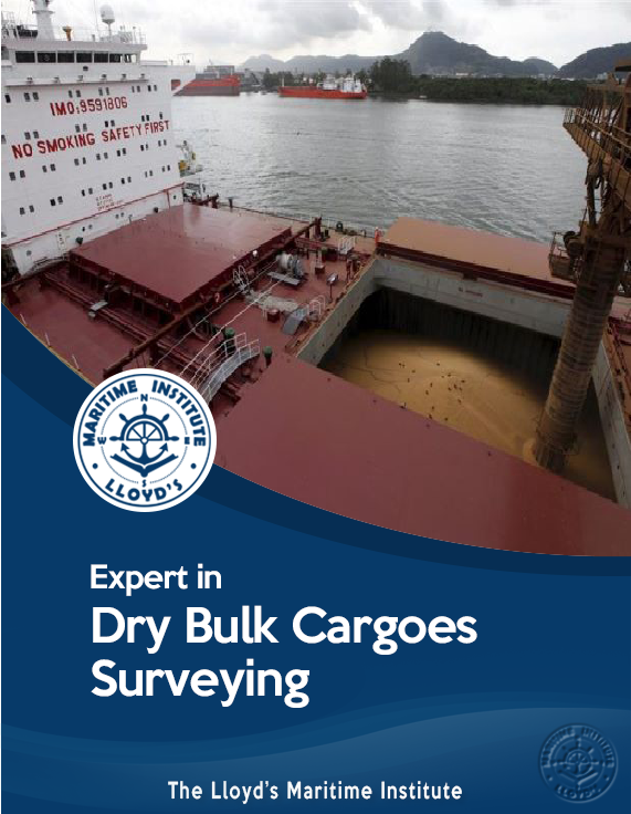 Cargo Surveying Advanced Diploma - Expert in Dry Bulk Cargoes Surveying