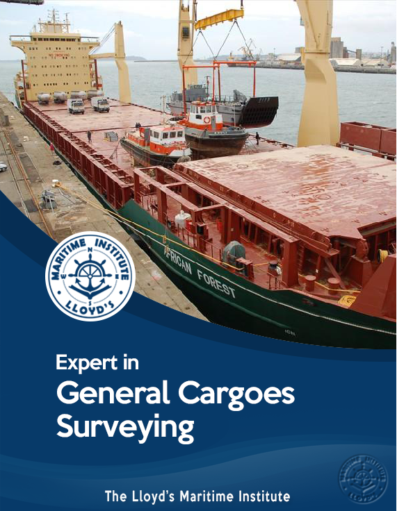 Cargo Surveying Advanced Diploma - Expert in General Cargo Inspection