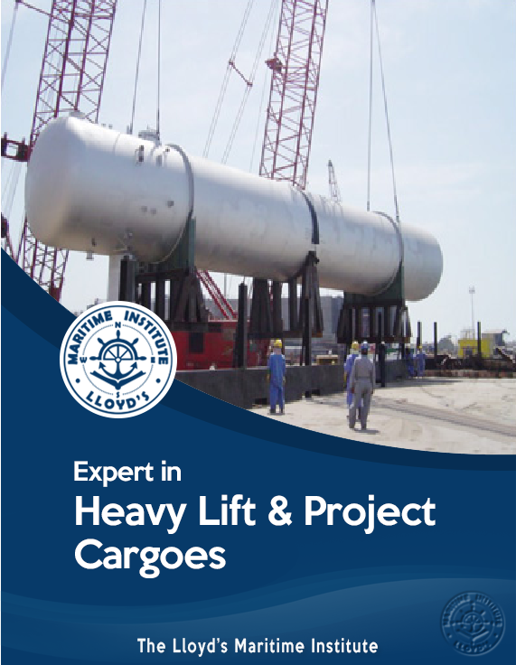 Cargo Surveying Advanced Diploma - Expert in Heavy Lift & Project Cargoes