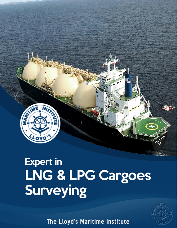 Cargo Surveying Advanced Diploma - Expert in LNG & LPG Cargo Inspection
