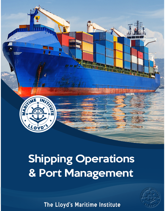 Shipping Management Advanced Diploma - Shipping Operations and Port Management