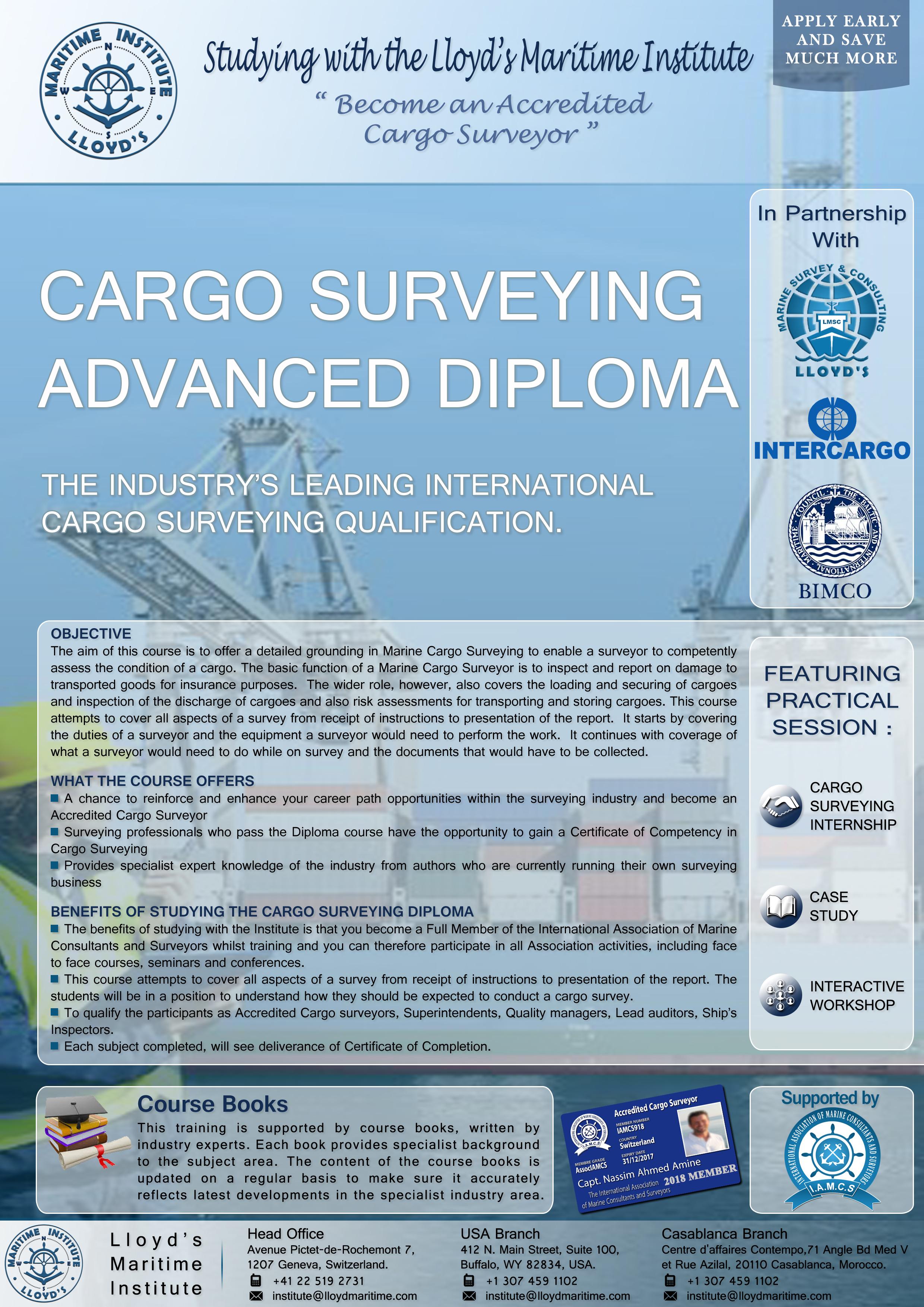 Cargo Surveying Advanced Diploma