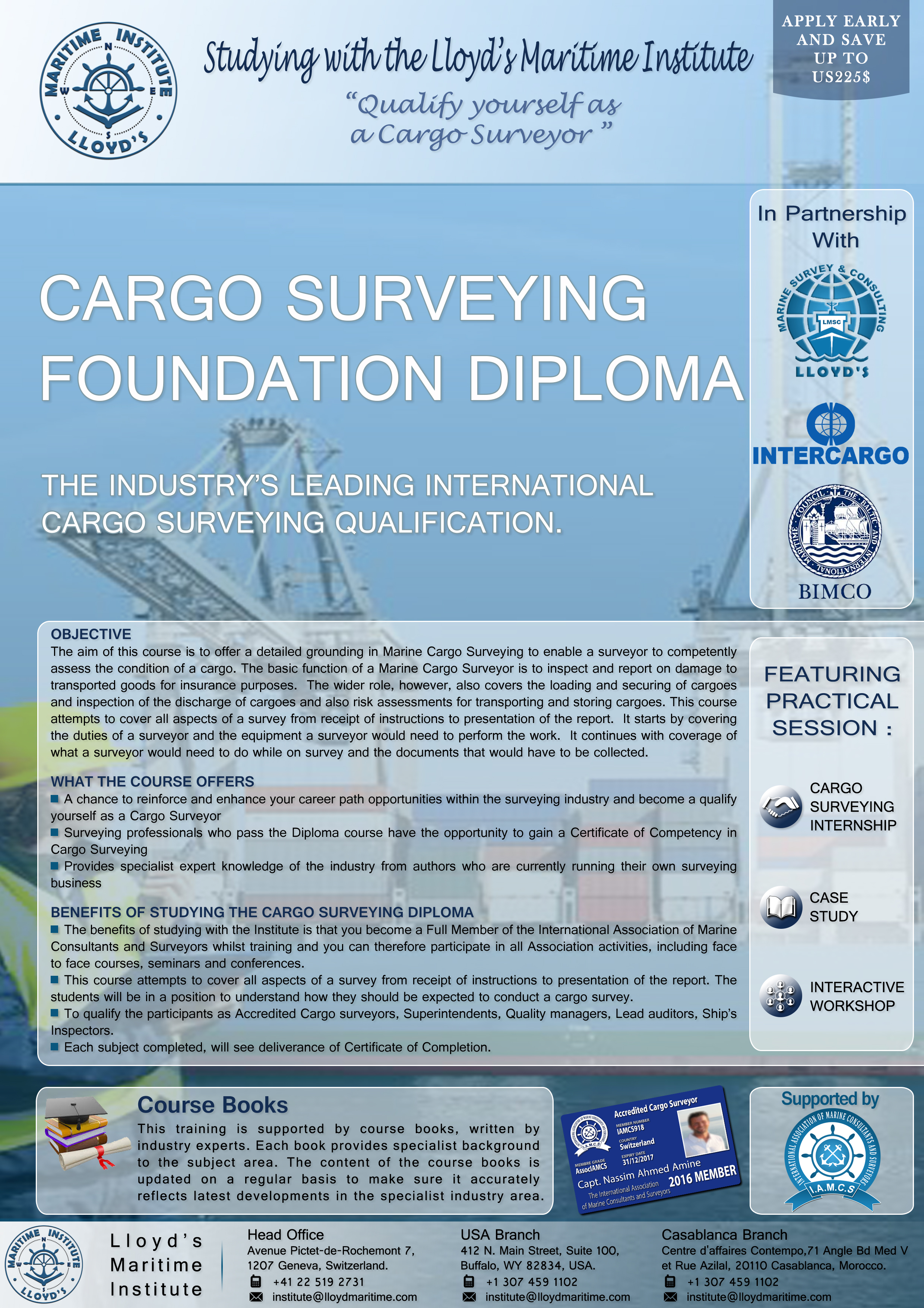 Cargo Surveying Foundation Diploma