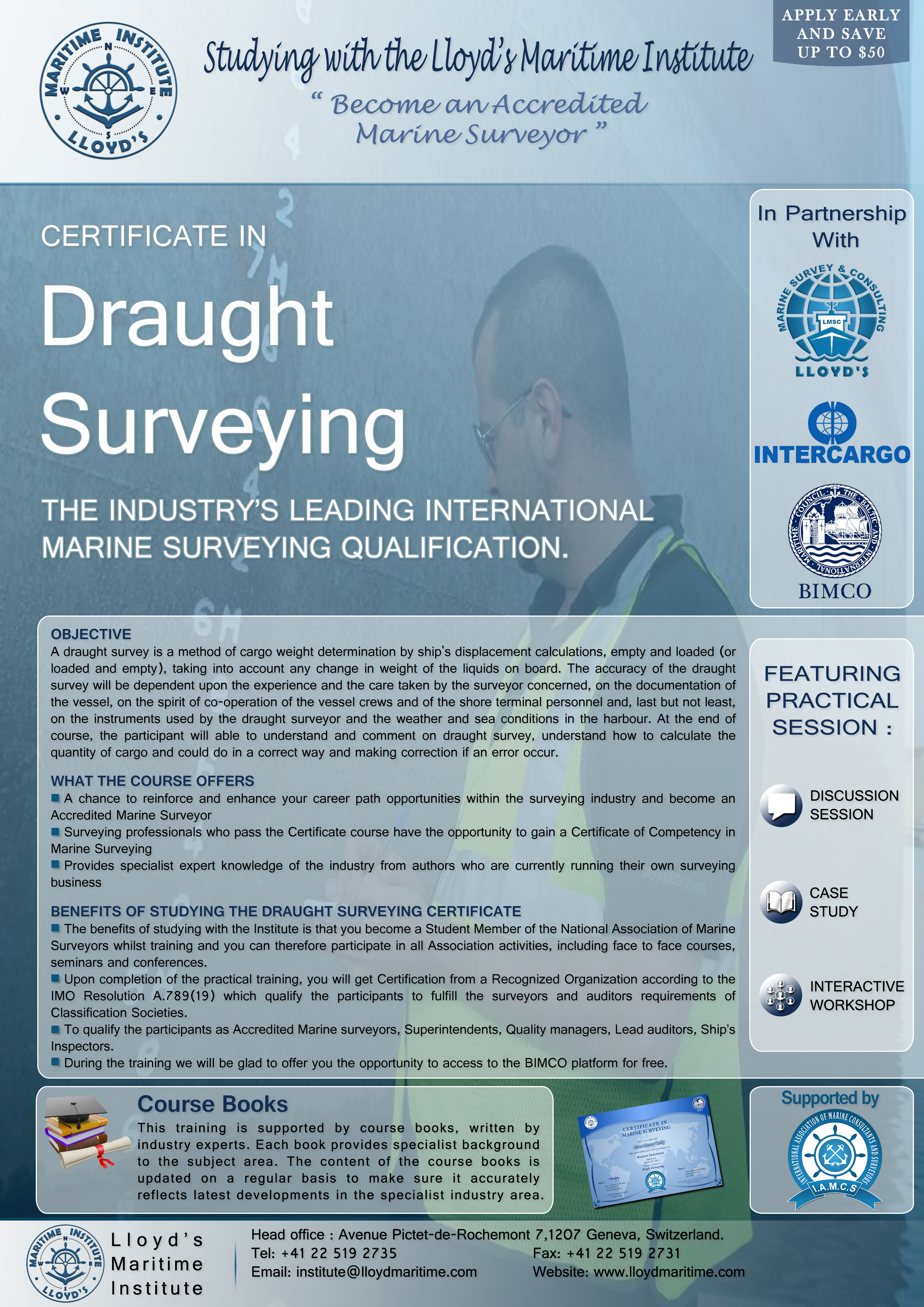 Draught Surveying Training Course